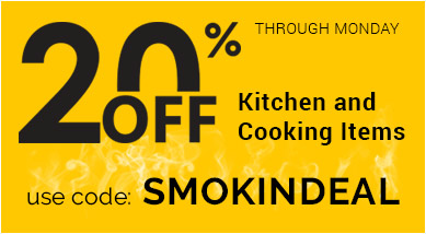 20% OFF COOKING