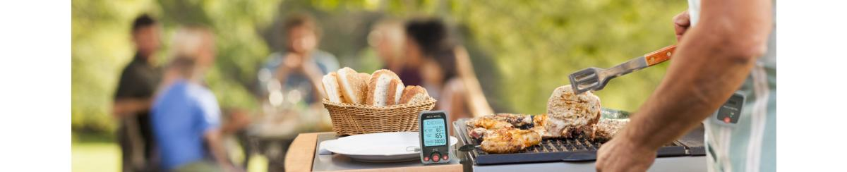 Grilling for the family with the help of a AcuRite grilling thermometer