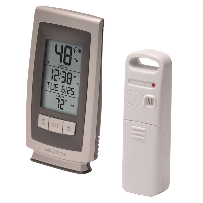 AcuRite Digital Indoor / Outdoor Thermometer with Intelli ...