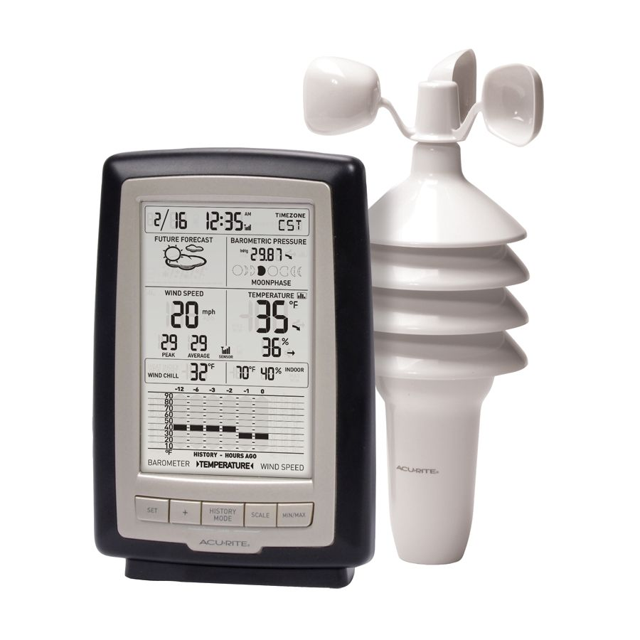 AcuRite Notos™ (3-in-1) Weather Station with Digital Display