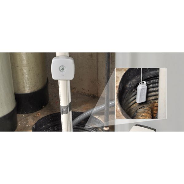 Water Leak Detector in a sump pump - AcuRite Home Monitoring Devices