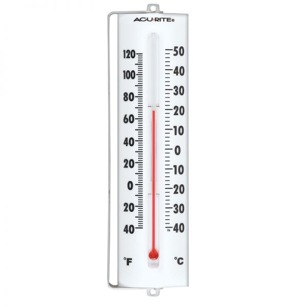 9.3-inch Thermometer with Swivel Bracket - AcuRite Thermometers