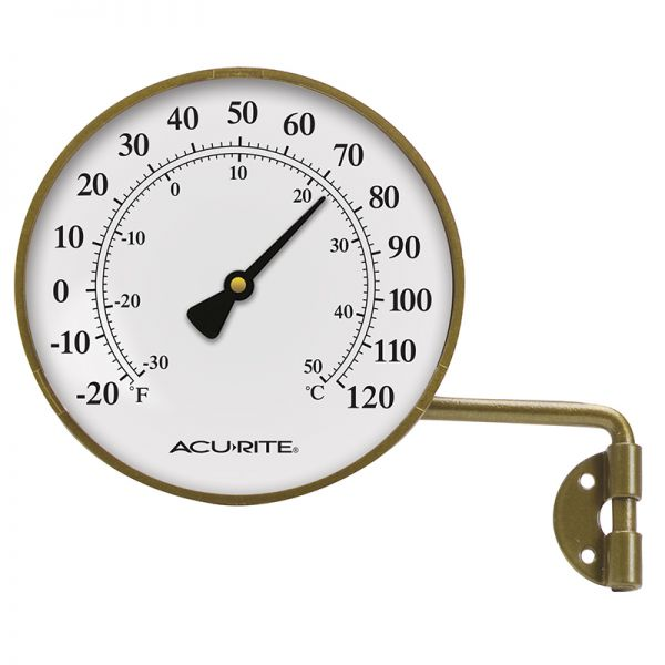 4 Inch Thermometer with Swivel Bracket - AcuRite Thermometers