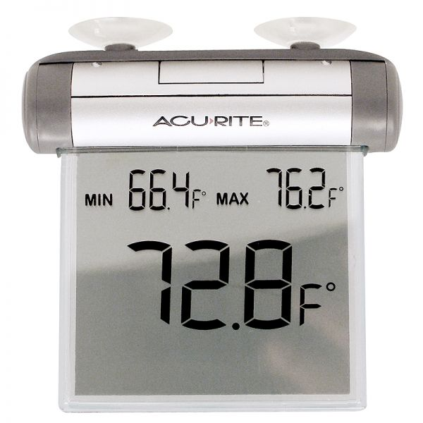 Digital Window Thermometer - AcuRite Thermometers