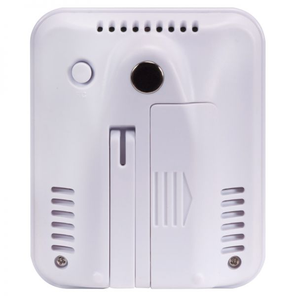 Back view of the Digital Indoor Temperature and Humidity Monitor - AcuRite Home Monitoring Devices