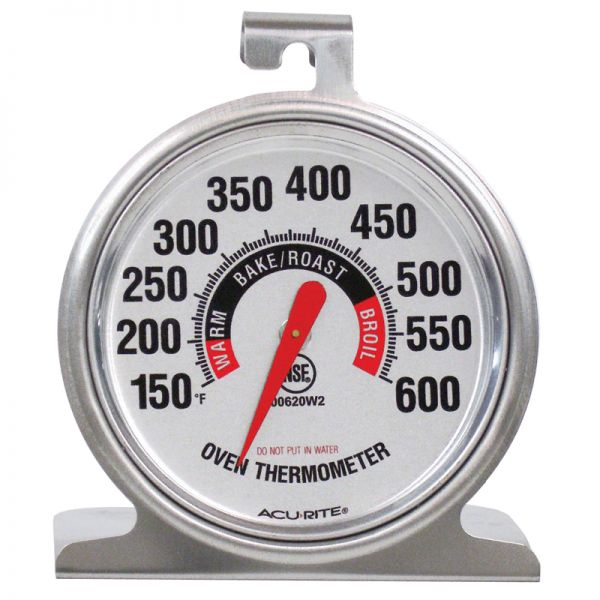 Stainless Steel Oven Thermometer - AcuRite Kitchen Devices