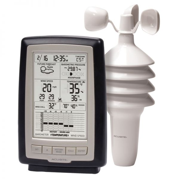 Home Weather Station with Wind Speed - AcuRite Weather Monitoring Devices