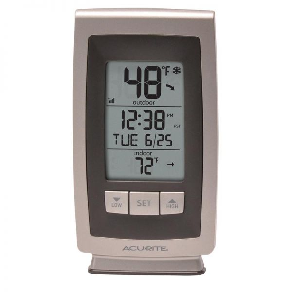 Digital Thermometer with Outdoor Temperature display - AcuRite Weather Monitoring Devices