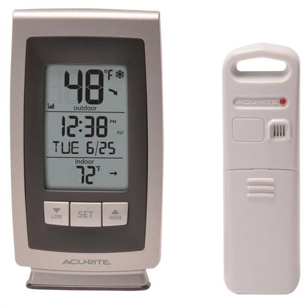 Digital Thermometer with Outdoor Temperature - AcuRite Weather Monitoring Devices