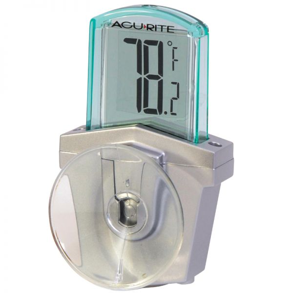 Digital Window Thermometer - AcuRite Weather Monitoring Devices
