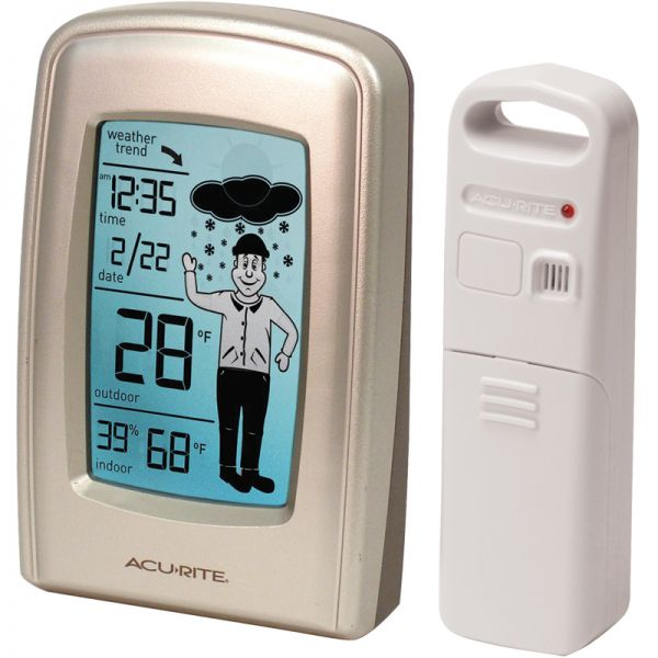 5 Inch What-to-Wear Digital Weather Station with Forecast - AcuRite Weather Monitoring Devices