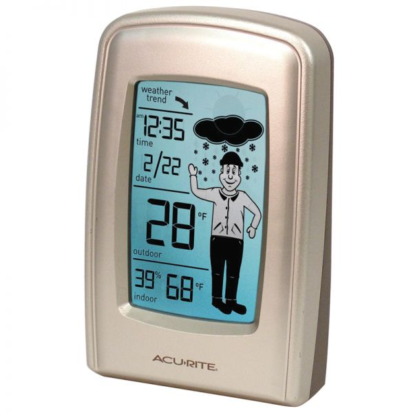 5 Inch What-to-Wear Digital Weather Station with Forecast Display - AcuRite Weather Monitoring Devices