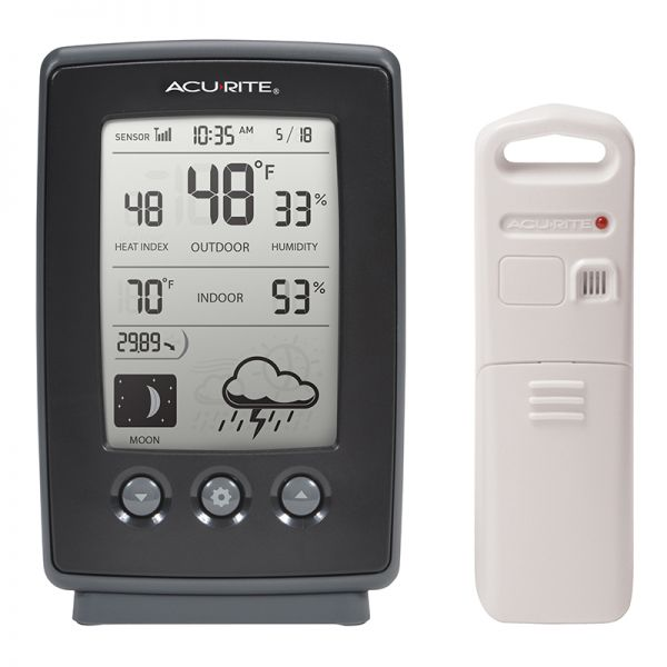 Digital Weather Station with Forecast - AcuRite Weather Monitoring Devices