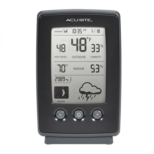 Digital Weather Station with Forecast Display - AcuRite Weather Monitoring Devices