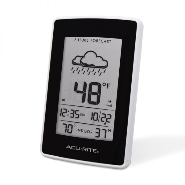 Angled view of the Weather Station display - AcuRite Weather Monitoring Devices