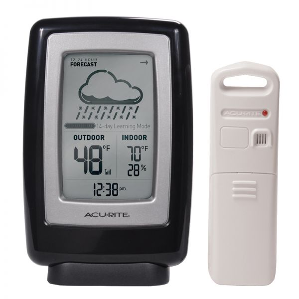6 Inch Digital Weather Station with Forecast - AcuRite Weather Monitoring Devices
