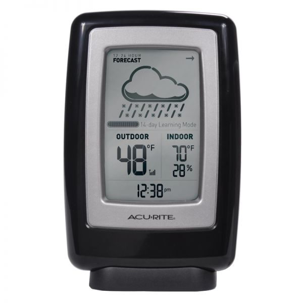 6 Inch Digital Weather Station with Forecast Display - AcuRite Weather Monitoring Devices