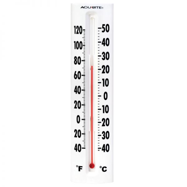 14-inch Easy-Read Thermometer - AcuRite Thermometers