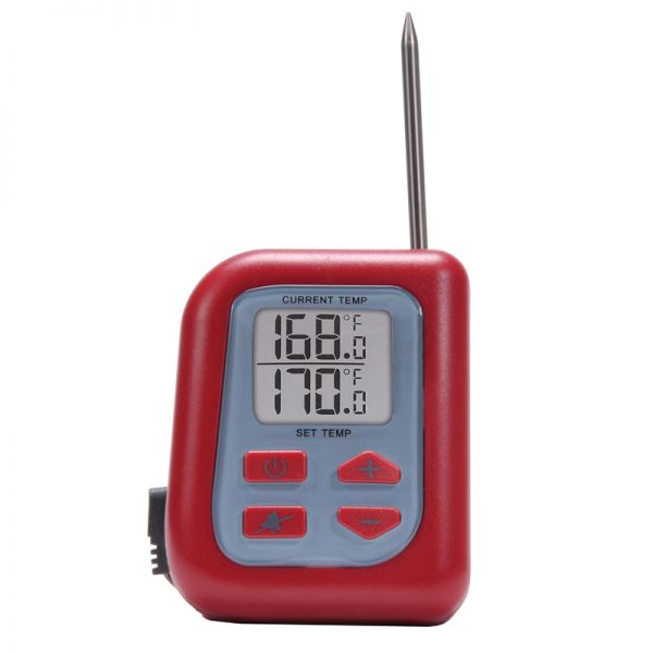 Digital Meat Thermometer with Probe for Oven / Grill / Fryer / Smoker - AcuRite Kitchen Gadgets