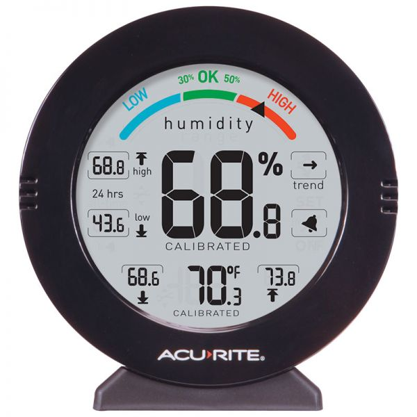 AcuRite Pro Accuracy Indoor Temperature and Humidity Monitor with Alarms - AcuRite Home Monitoring Devices