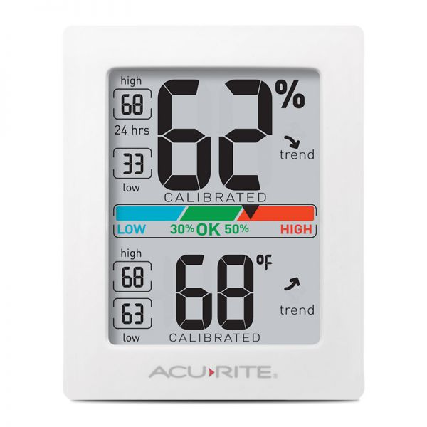 AcuRite Pro Accuracy Indoor Temperature and Humidity Monitor - AcuRite Home Monitoring Devices