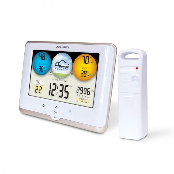 Angled view of the Digital Weather Station - AcuRite Weather Monitoring Devices