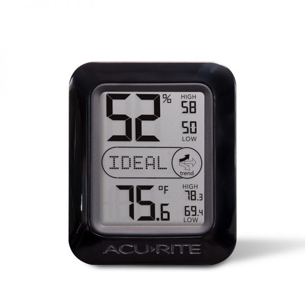 AcuRite Indoor Humidity and Temperature Monitor (2 Color Options) - AcuRite Home Monitoring Devices