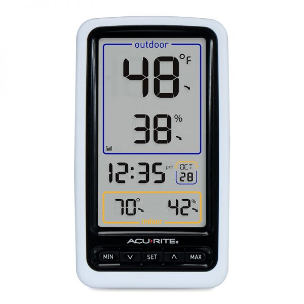 Wireless Digital Thermometer Display - AcuRite Weather Monitoring Devices