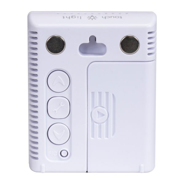 Back view of the AcuRite Pro Accuracy Indoor Temperature and Humidity Monitor - AcuRite Home Monitoring Devices
