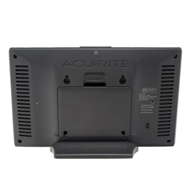Back of the Color Display (Dark Theme) for 5-in-1 Weather Station - AcuRite Weather Monitoring Devices