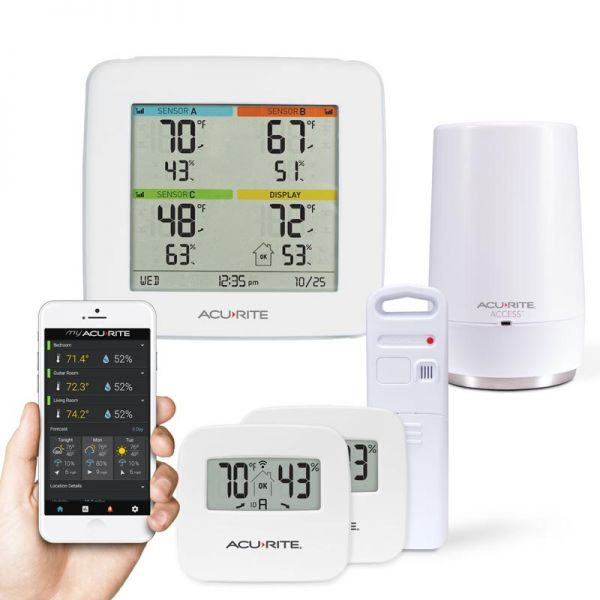 Multi-Sensor Display & 3-Sensor - AcuRite Weather Monitoring Devices