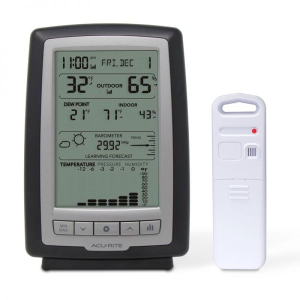 Weather Station with Trends and Forecasting - AcuRite Weather Monitoring Devices