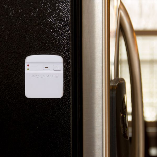 Wireless Pager for the AcuRite Water Leak Detector on a refrigerator