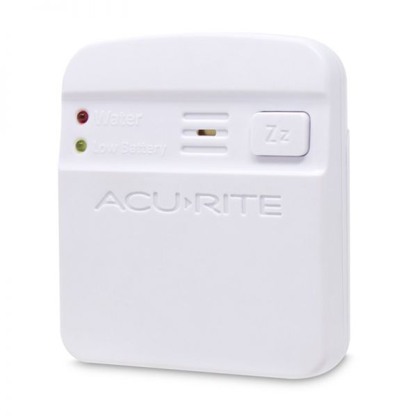 Angled view of the Wireless Pager for the AcuRite Water Leak Detector