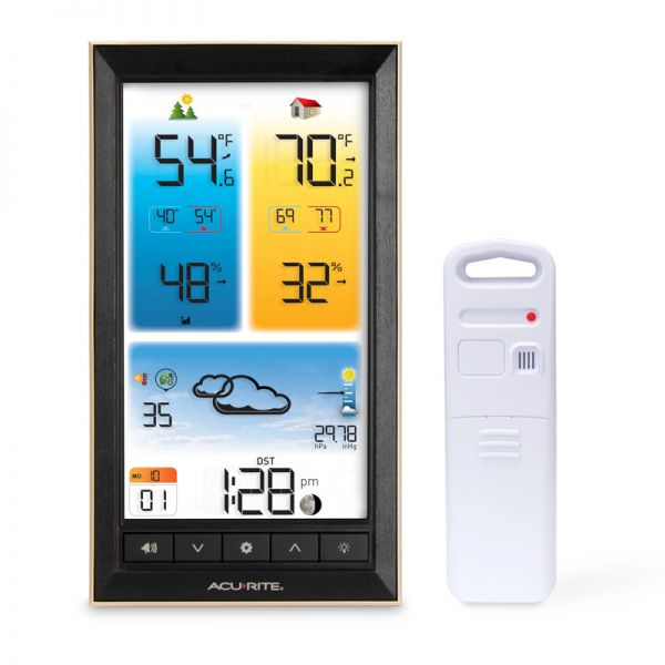 Digital Color Weather Station - AcuRite Weather Monitoring Devices
