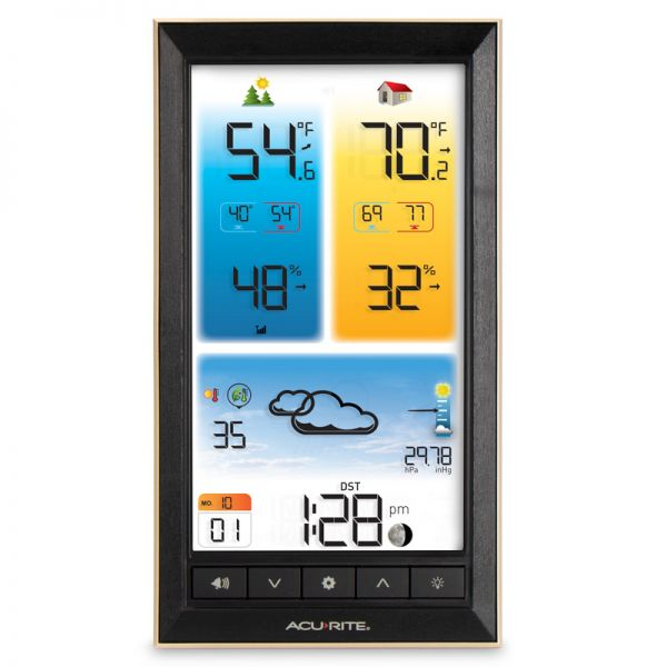 Digital Color Weather Station Display - AcuRite Weather Monitoring Devices