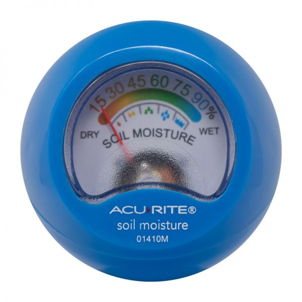 Top of the Soil Moisture Meter - AcuRite Gardening