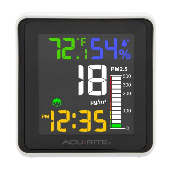 indoor air quality monitor - front view