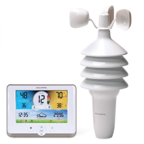 3-in-1 Weather Station with Wi-Fi Connection to Weather Underground - AcuRite Weather Monitoring Devices