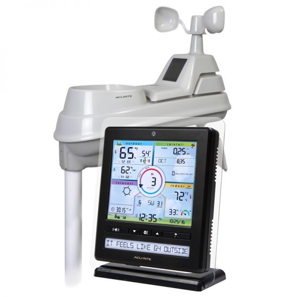 Color Weather Station with 5-in-1 Sensor - AcuRite Weather Monitoring Devices