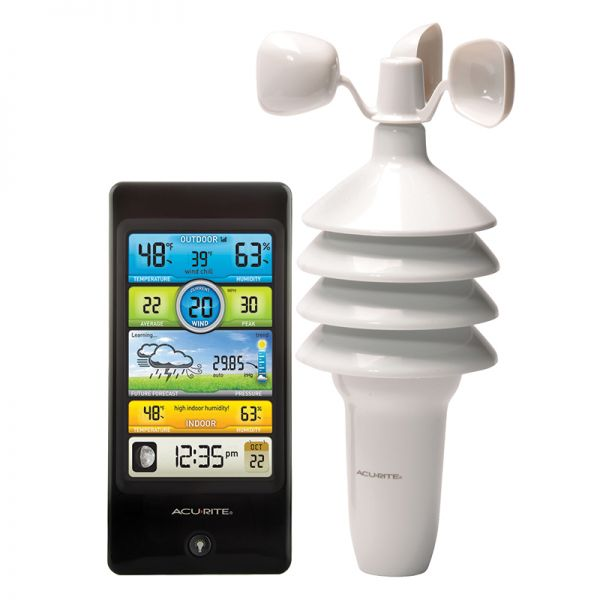 Pro Color Weather Station with Wind Speed - AcuRite Weather Monitoring Devices