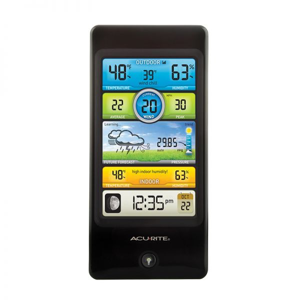 Pro Color Weather Station Display - AcuRite Weather Monitoring Devices
