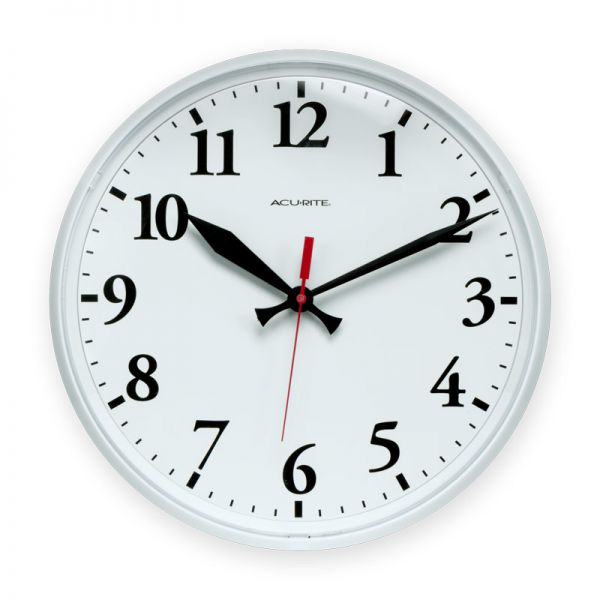 AcuRite 12.5 inch wall clock