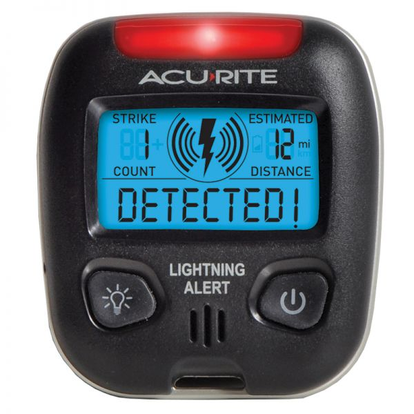 Portable Lightning Detector - AcuRite Weather Monitoring Devices