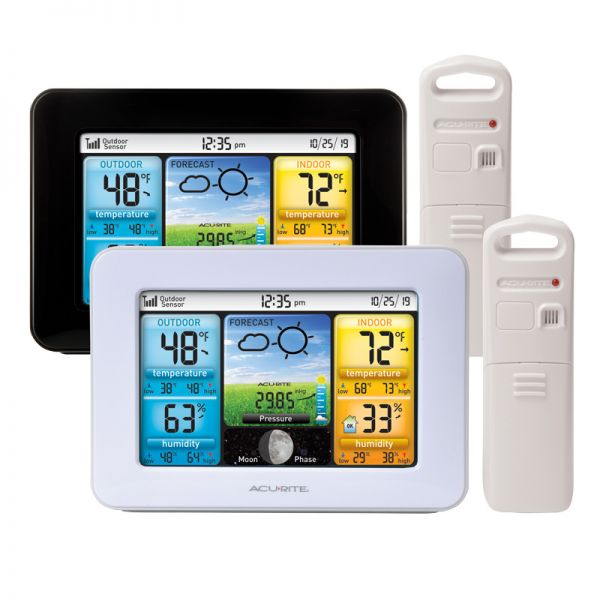 Color Weather Station with Light or Dark Color Options – AcuRite Weather Monitoring