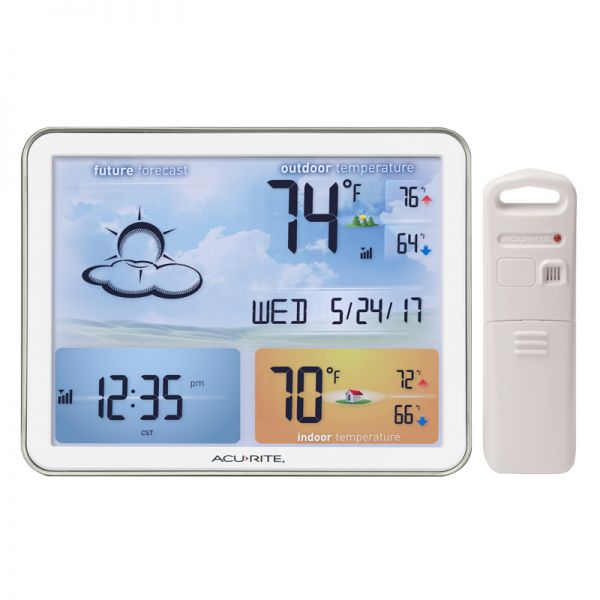 Weather Station with Large Color Display – AcuRite Weather Monitoring Devices