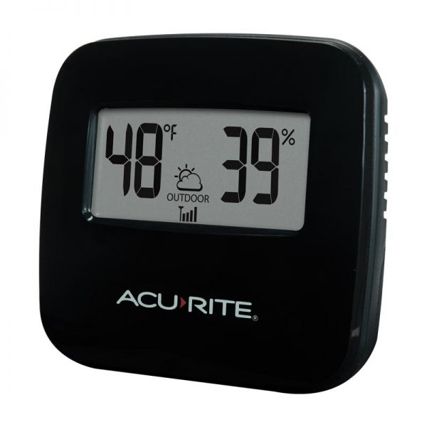 Angled view of the Wireless Thermometer Display - AcuRite Weather Monitoring Devices