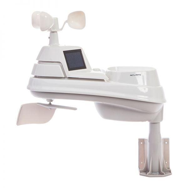 Side View of Pro+ 5-in-1 Weather Station with AcuRite Access for Remote Monitoring – AcuRite Weather Tools