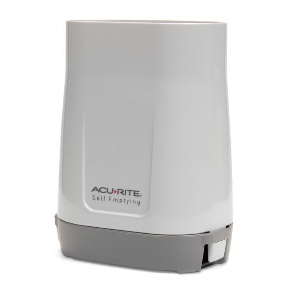 Angled view of the Rain Gauge Collector - Acurite Weather Monitoring Devices