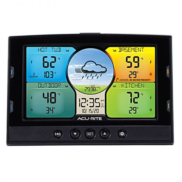 Weather Station with Forecast Display - AcuRite Weather Monitoring Devices